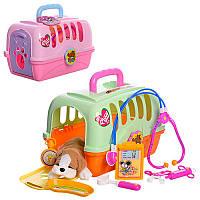 Доктор 152  инструменты -8 предметов собачка в чемодане
