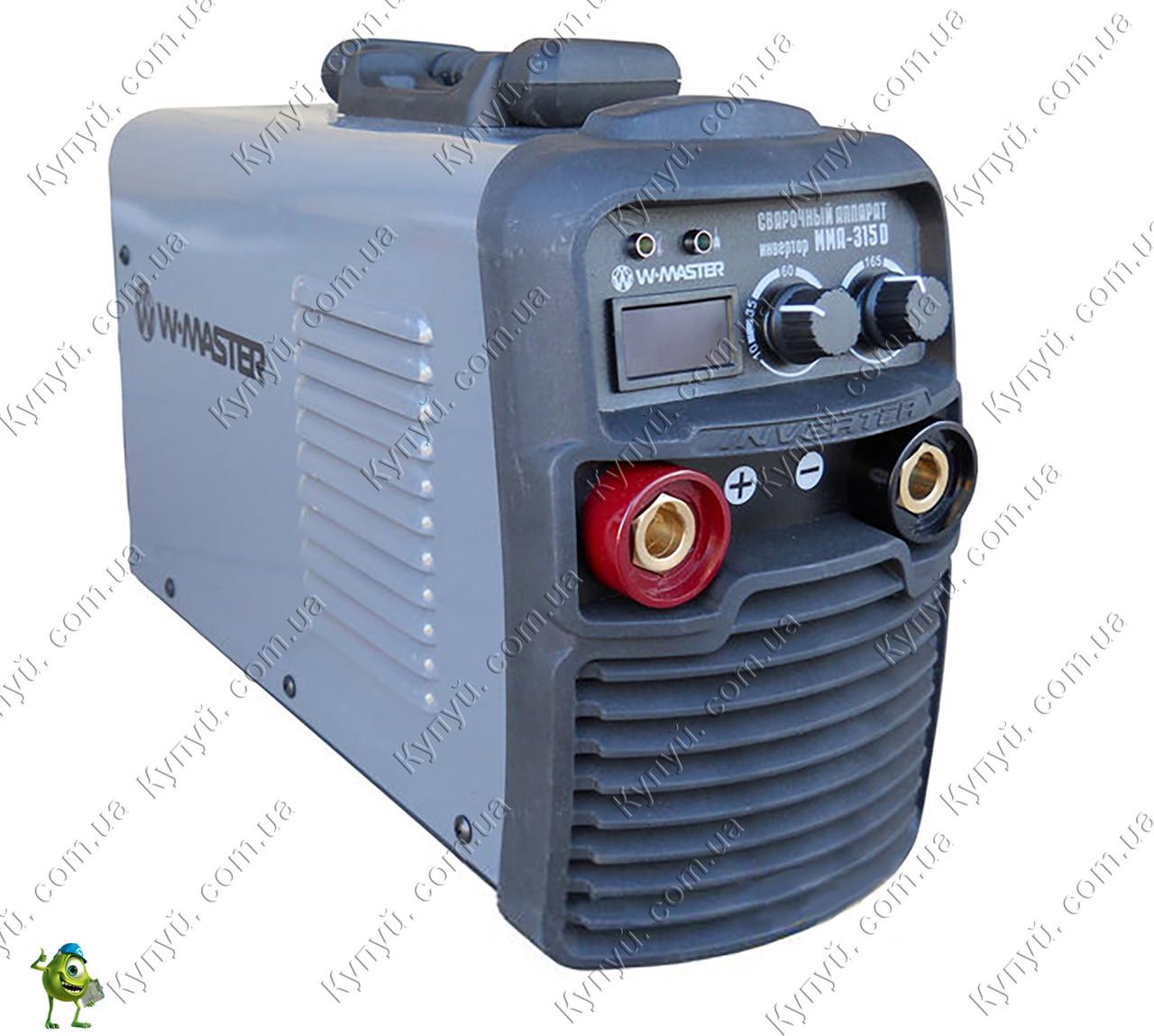 Сварочный инвертор WMaster ММА-315D