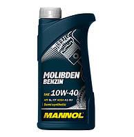 Моторное масло Mannol Molibden benzin 10w40 1л