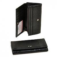 Женский кошелек из кожзама Rose-6 WD-3 black