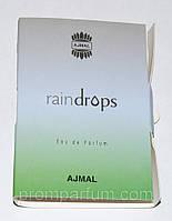Женский парфюм Ajmal Raindrops пробник (1 ml, нежный и утонченный аромат ) 100% оригинал ARWRL