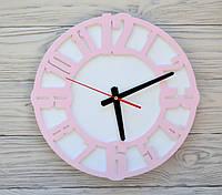 Часы настенные розовые Prague