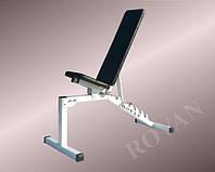 Складная скамья для жима Rovan: тренажер для дома и спортзала