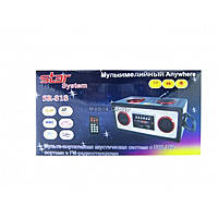 Портативные MP3 колонки от USB SD карт FM Star 818