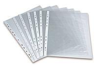 Файлы для документов А4 (100шт/25мкн) прозрачные