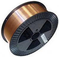 Сварочная проволока ER70S-6 омедненная (аналог СВ08Г2С), диаметр 0,6 мм, 1кг рядной намотки