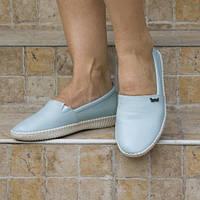 Туфли кожаные tr6036buzmavi