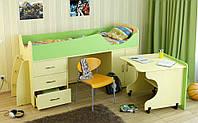 Удобная кровать-чердак