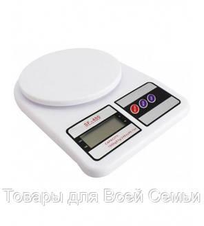Кухонные электронные весы Domotec SF-400, фото 2