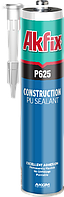 Герметик полиуретановый akfix p635 строительный черный,серый,белый