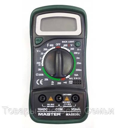 Мультиметр MASTER MAS-830 LN, фото 2