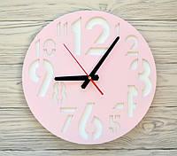 Часы настенные розовые New Delhi
