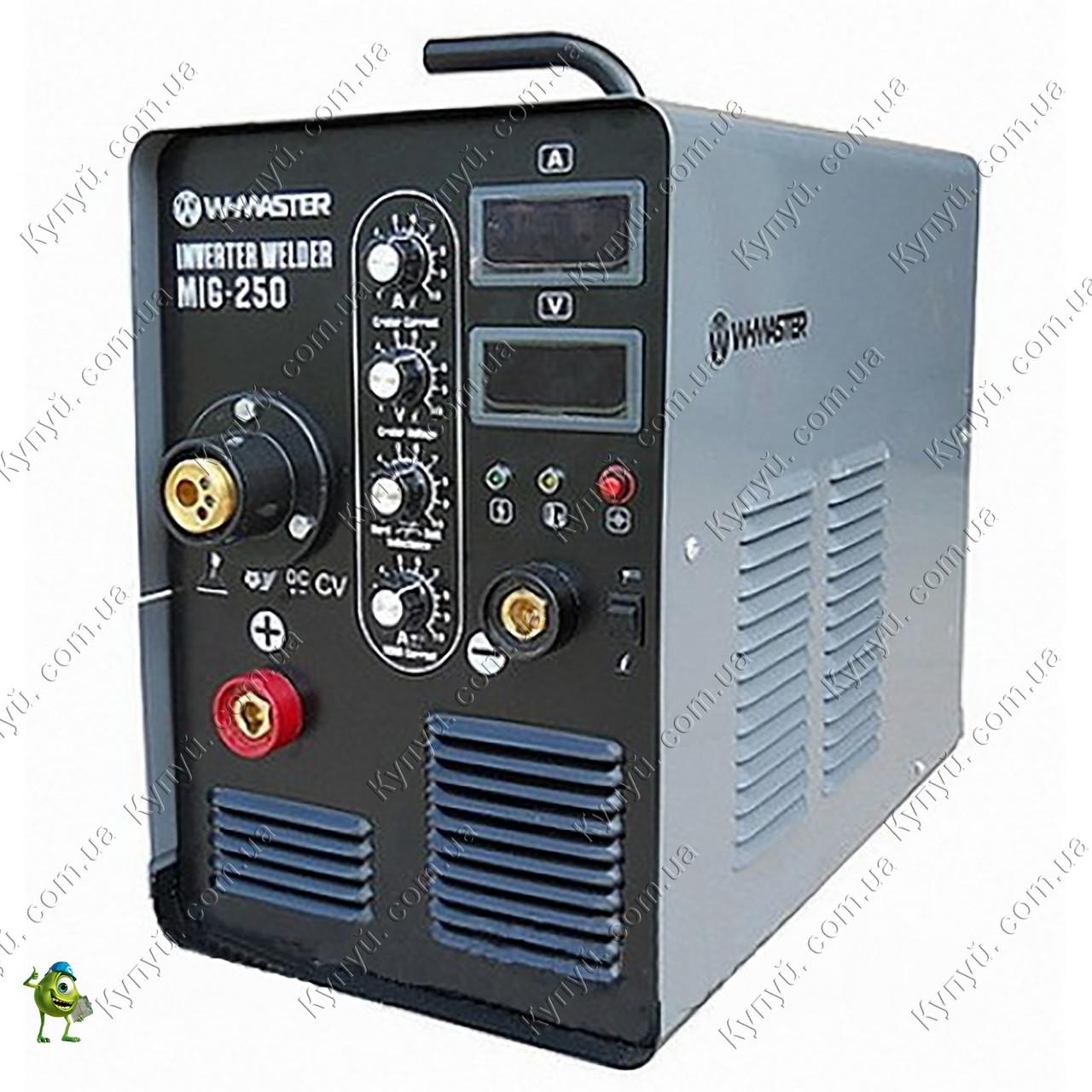 Сварочный инвертор полуавтомат WMaster MIG-250