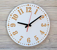 Часы настенные белые Geneva