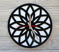 Часы настенные черно-белые Tokyo