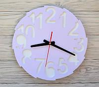 Часы настенные сирневые Toronto