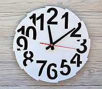 Часы настенные черно-белые Toronto