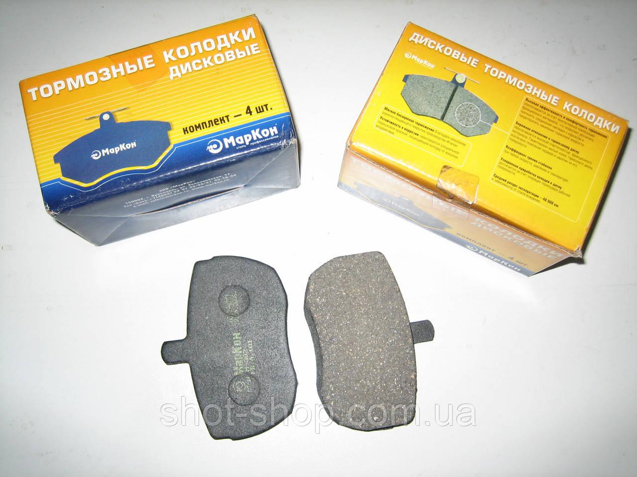 Колодки тормозные дисковые (к-кт 4шт) УАЗ 3160.3163.31519 МАРКОН