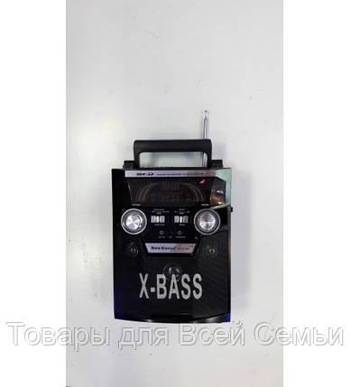Аккумуляторная колонка-чемодан KN-631 MIC, фото 2