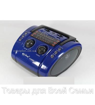 Бумбокс Golon MP3 Колонка Радио PX 003 REC, фото 2