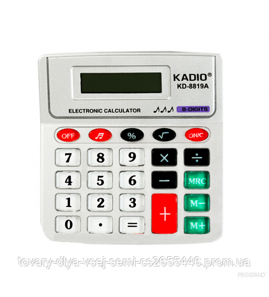 Калькулятор KADIO KD-8819A, фото 2