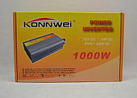 Преобразователь напряжения Konnwei 1000W 24DC