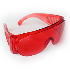 Очки защитные красные ОЗОН MasterTool 82-0052