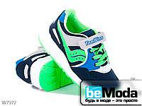 Удобные кроссовки детские Cinar яркой расцветки синие