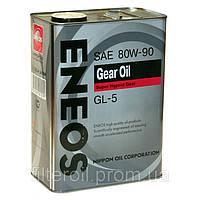 Масло трансмиссионное Eneos Gear Oil 80W-90 GL-5 4лит