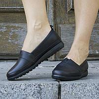 Туфли кожаные tr5004syah