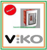 Бокс скрытой установки Viko на 2 автомата Щиток