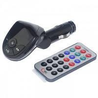 FM модулятор FM-S10 пульт, Micro SD, USB, AUX-выход