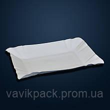 Тарелка одноразовая картонная 14*20 см