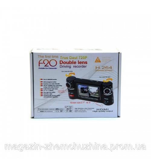 Видеорегистратор DVR F20 Dual Camera