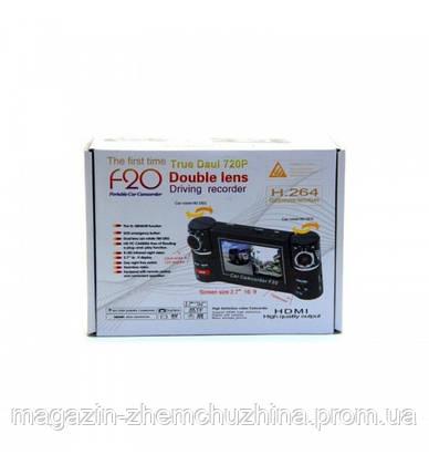 Видеорегистратор DVR F20 Dual Camera, фото 2