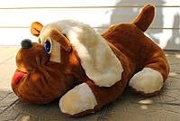 Мягкая игрушка - собака подушка средняя