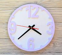 Часы настенные сиреневые Chicago