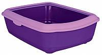 Туалет Trixie Classic Litter Tray для кошек с рамкой, пластик, 47х37х15 см