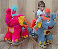 Мягкая игрушка - каталка - слон цирковой