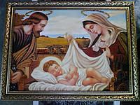 """Икона из янтаря. """" Рождество Христово """""""