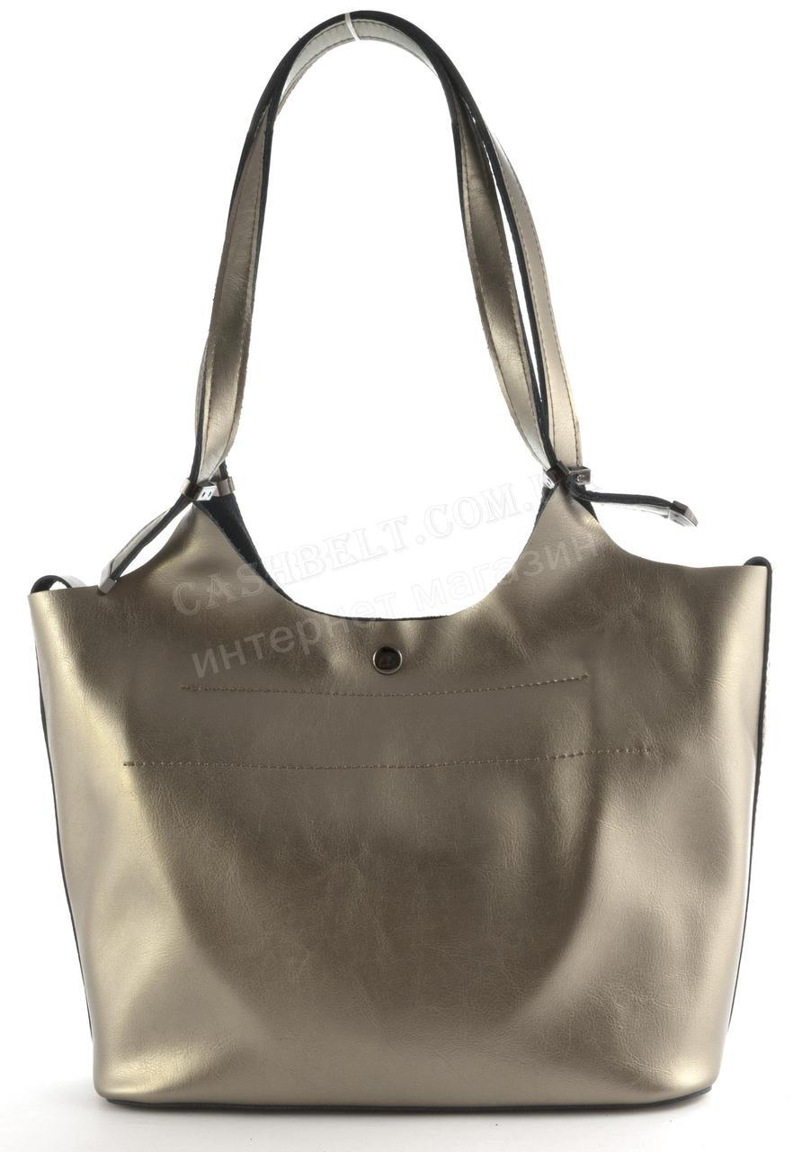 Оригінальна міцна модна якісна шкіряна сумка матрьошка GALANTY art. 1017