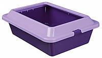 Туалет Trixie Kitty Litter Tray для котят с рамкой, пластик, 27х12х37 см
