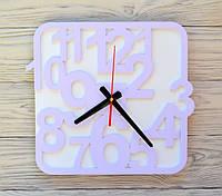 Часы настенные сиреневые Sofia