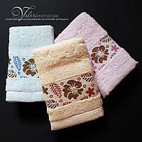 Плотное махровое полотенце для рук и лица. 30х70. 100% хлопок