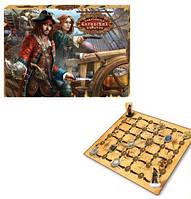 """Детская настольная игра """"Сокровища карибских пиратов"""""""