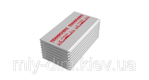 """Пінопласт екструдований """"ТЕХНОПЛЕКС"""", 2х120х60 (0,72м2) 20лист/уп. ТехноНІКОЛЬ"""