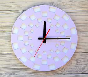 Часы настенные сиреневые Marrakesh