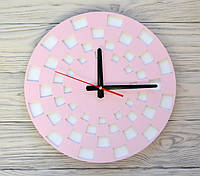 Часы настенные розовые Marrakesh