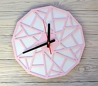 Часы настенные розовые Rio