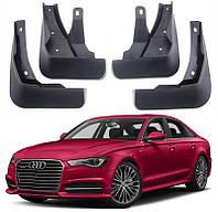 Audi A6 C7 2016+ брызговики колесных арок GT передние и задние полиуретановые
